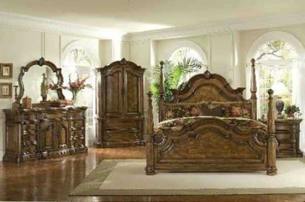 Pulaski Furniture San Mateo 7 Piece Poster Bedroom Set