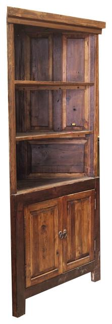 Reclaimed Corner Cabinet 89834 Rustic Bathroom
