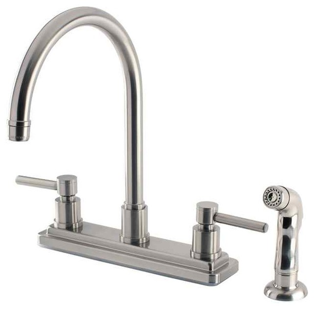 two handle kitchen faucet with matching side sprayer peerless two handle kitchen faucet with side sprayer