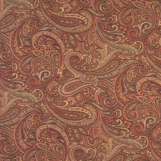 F326 Traditional Paisley Upholstery Fabric Traditional