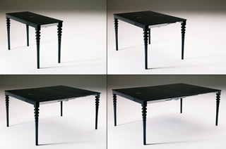 Deco Expandable Console Amp Dining Table Traditional