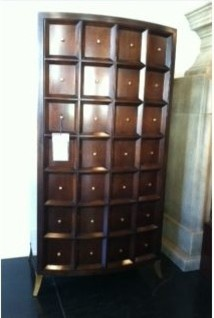 Baker's Bevel Tall Cabinet/Bar - Contemporary - Wine And Bar Cabinets - raleigh - by Rodolfo ...