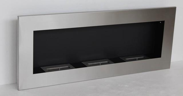 Verra Lux Modern Recessed Ventless Ethanol Fireplaces Modern Indoor Fireplaces New York