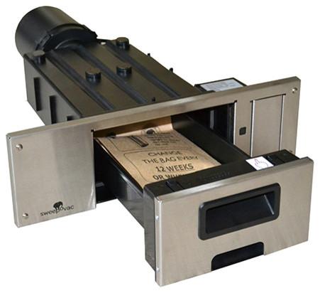 Sweepovac Built In Kitchen Vacuum System Modern Vacuum