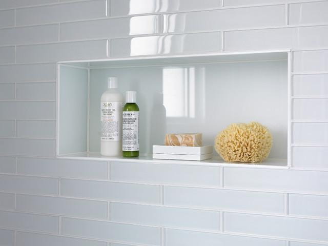 Shower niche ideas