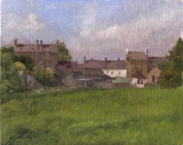 County donegal original art contemporain tableau d 39 art - Tableau original contemporain ...
