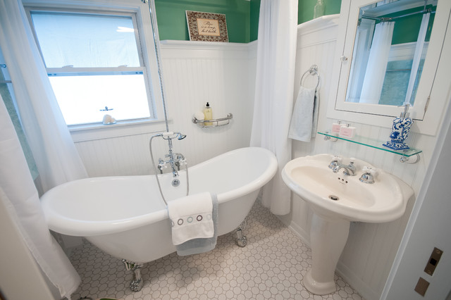 north scituate ri hall bath remodel traditional