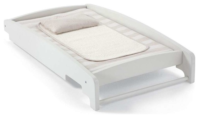cot top changer ivory traditional changing tables. Black Bedroom Furniture Sets. Home Design Ideas