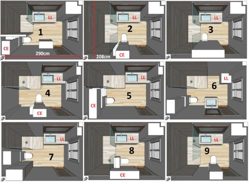 cher houzzien besoin de vos avis sur diff rents plan pour notre sdb. Black Bedroom Furniture Sets. Home Design Ideas