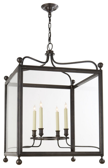 Large Lantern Chandelier Foyer : Greggory large hanging lantern traditional chandeliers