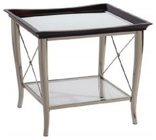 Bassett mirror thaxton rectangular end table t2608 200 traditional coffee tables salt Traditional coffee tables and end tables