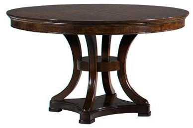 Sterling Heights Round Table Traditional Dining Tables By Havertys