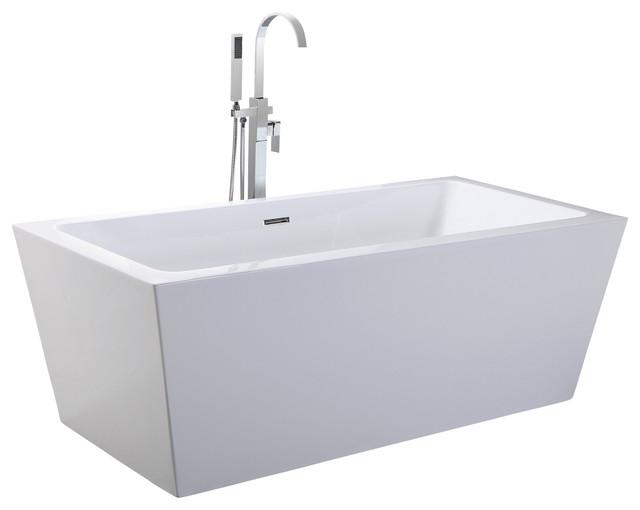 Helixbath Centaur Freestanding Bathtub Acrylic 63 Quot W