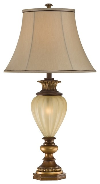 """Kathy Ireland Hyde Park 34"""" High Night Light Table Lamp - Traditional - Table Lamps"""