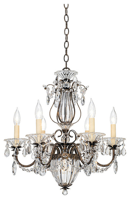 Design Your Own Schonbek Bagatelle Collection One Wide Crystal Chandelier Traditional