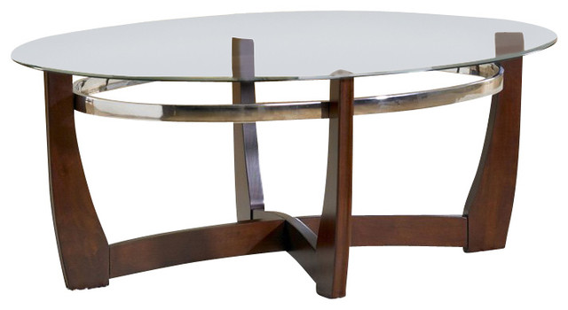 Standard Furniture Apollo 3 Piece Coffee Table Set In Dark Brown Transitional Coffee Table