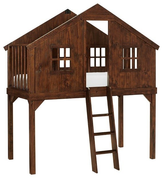 treehouse bed contemporary kids beds by pottery barn