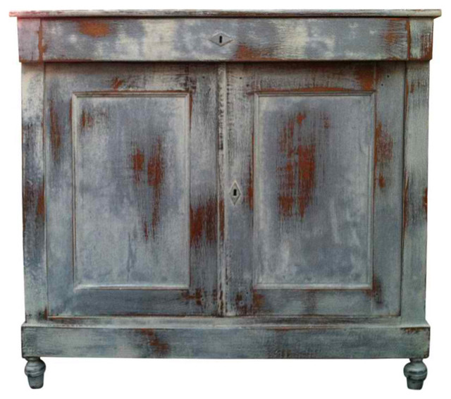 Old Painted French Farmhouse Eclectic Furniture new york by Omero