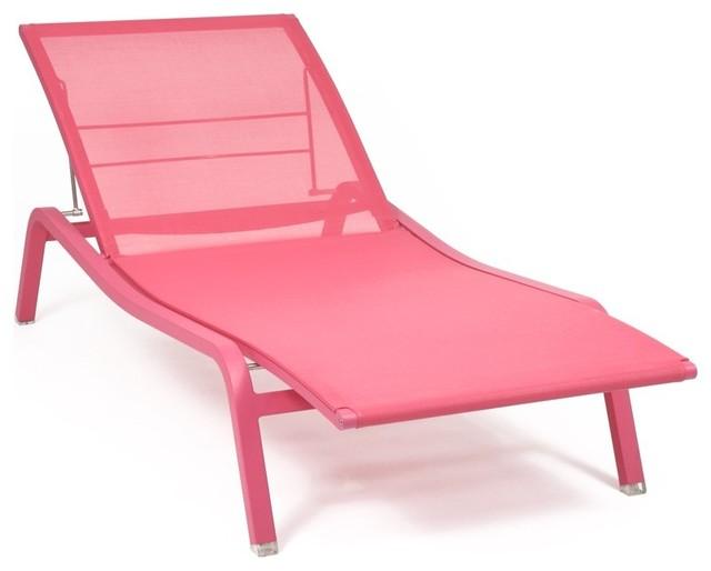 bain de soleil de fermob modern gartenliegen sonnenliegen other metro von le c dre rouge. Black Bedroom Furniture Sets. Home Design Ideas