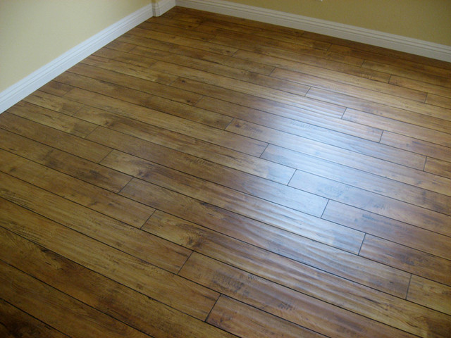 Wild Honey Distressed Laminate Floor