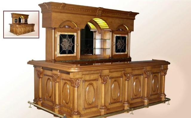 Home bars designs traditional raleigh by christiano furniture Home bar furniture raleigh nc