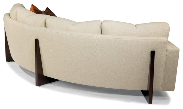 Clip Curved Sofa Back View From Thayer Coggin