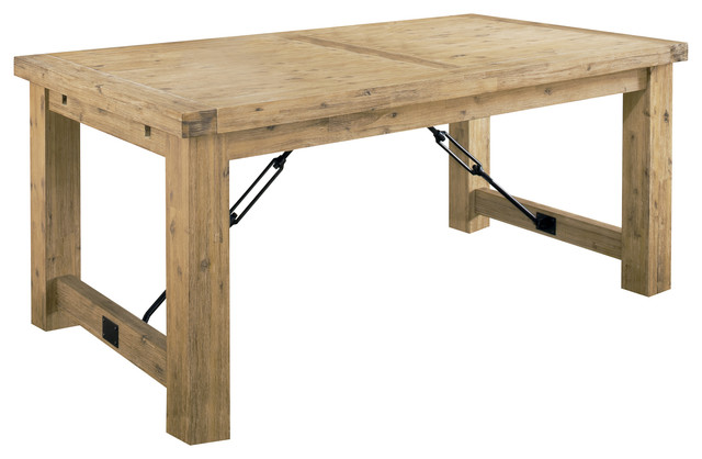 Autumn Solid Wood Extension Table Rustic Dining Tables