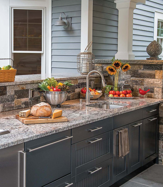 superb Kitchen Appliances Orange County #8: Brown Jordan Outdoor Kitchens outdoor-kitchen-appliances