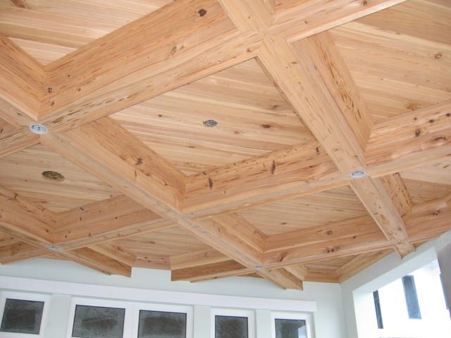 Box beam ceilings contemporary miami by jm custom for Box beam ceiling