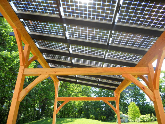 solar pergola traditional philadelphia by hugh lofting timber