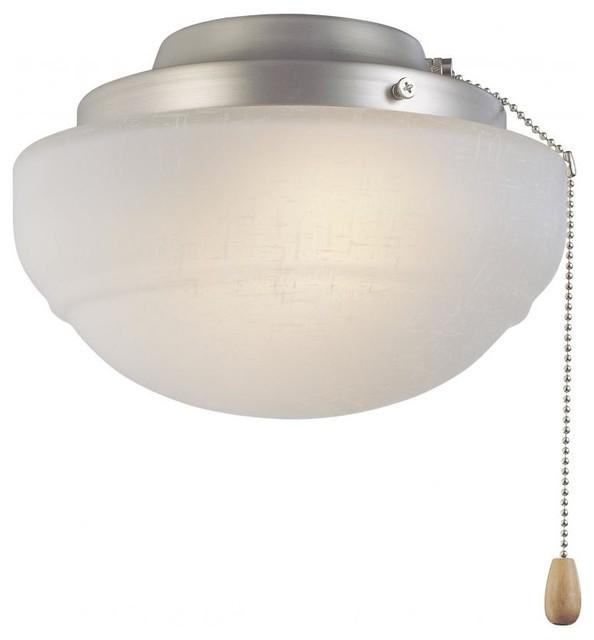 Nickel Fan Light Kit