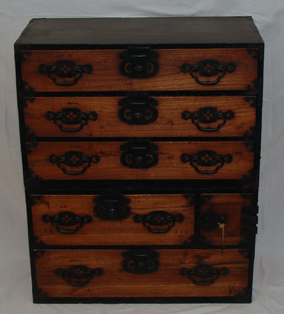 Antique Japanese Tansu Chest of Drawers - Asian - Nightstands And Bedside Tables - new orleans ...