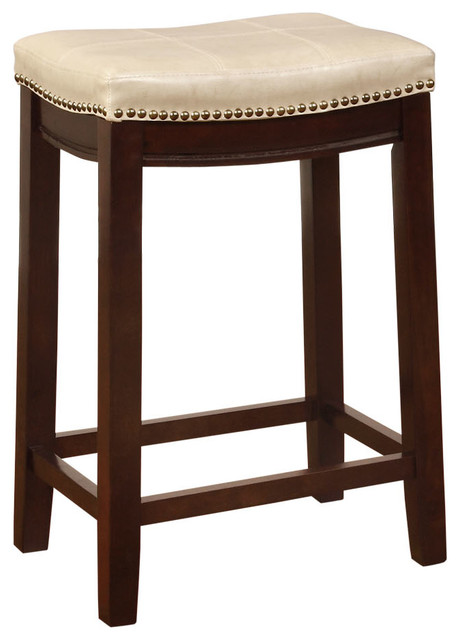 Claridge Counter Stool Jute Transitional Bar Stools