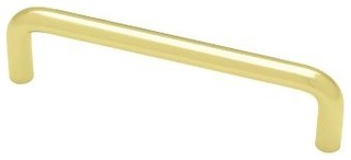 Liberty Hardware P604DC-PB-C1 0 0.31 Inch Handle Pull - Polished Brass - Modern - Cabinet And ...
