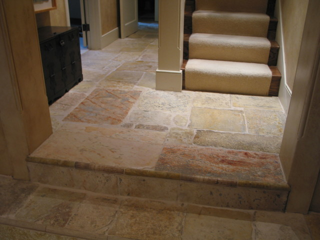 Reclaimed Jerusalem Stone Floor
