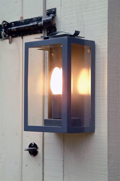 Wall lantern - For Outside Use - Slate Grey Colour