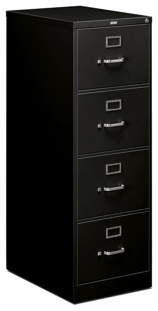 HON 510 Series Vertical File - 4 Drawer, Legal - Contemporary - Filing Cabinets - by Rulers