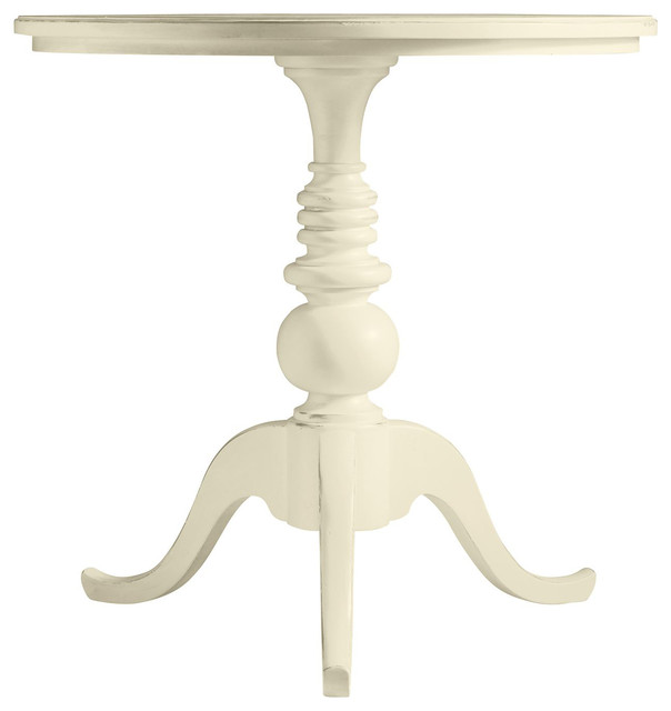 Coastal Living Cottage Beachcomber Round Top End Table