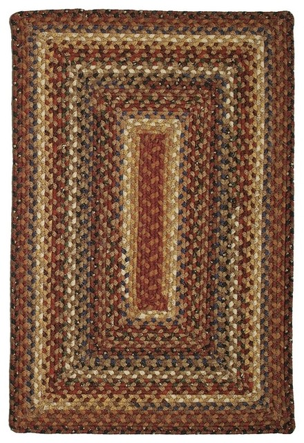 Homespice Biscotti bis bro Brown Area Rug 2 x3 Oval Farmhouse A