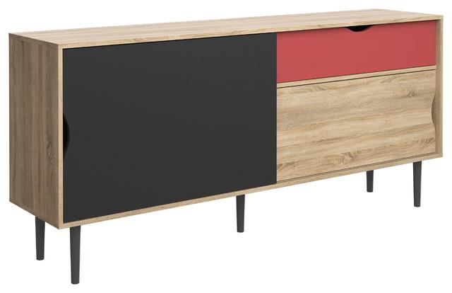 Unti 1 drawer and 2 door sideboard scandinavian - Tvilum sideboard ...