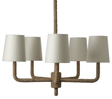 Rope Chandelier by West Elm - Contemporary - Chandeliers - by West Elm