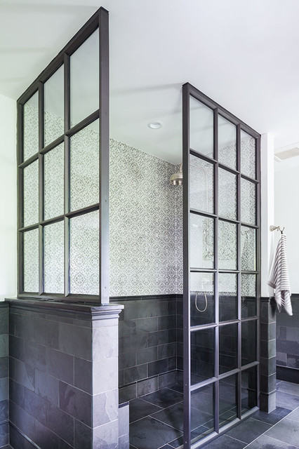 Newton tudor expansion traditional by chace architecture for Master bathroom expansion