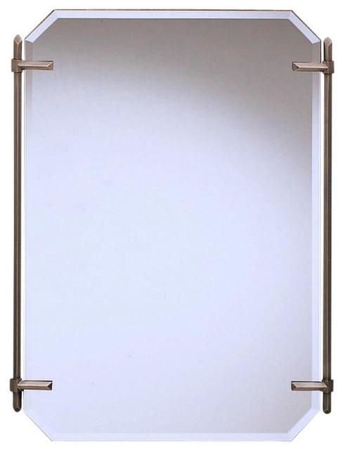 Simple Manhattan Vanity Mirror Transitionalbathroommirrors
