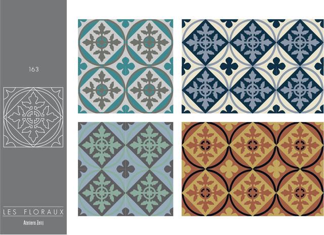 Carreaux de ciment collection les floraux moderne for Tarif carreaux de ciment