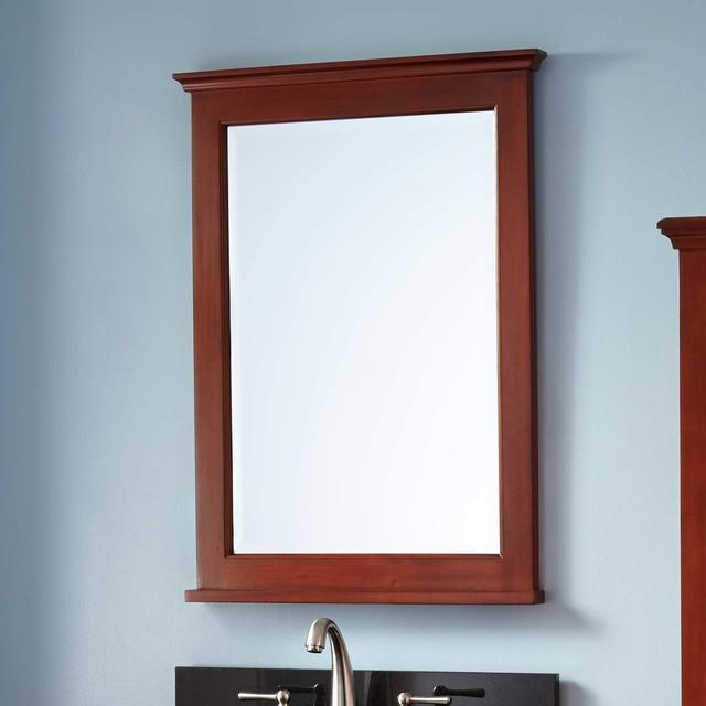 Mahogany Bathroom Mirror: Keller Mahagony Vanity Mirror