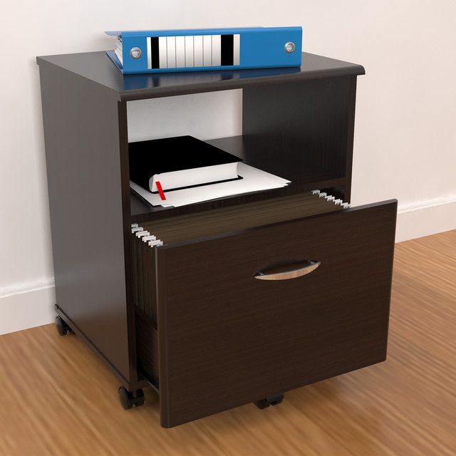Inval Mobile Drawer File - Contemporary - Filing Cabinets - by Overstock.com