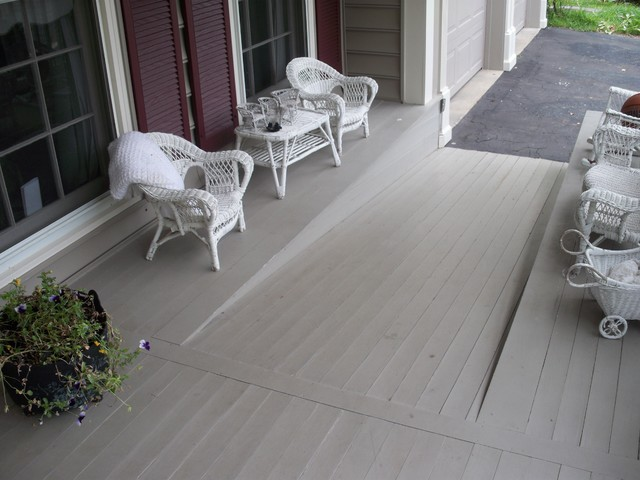 Universal accessible exteriors entrances by glickman for Building a wheelchair accessible home