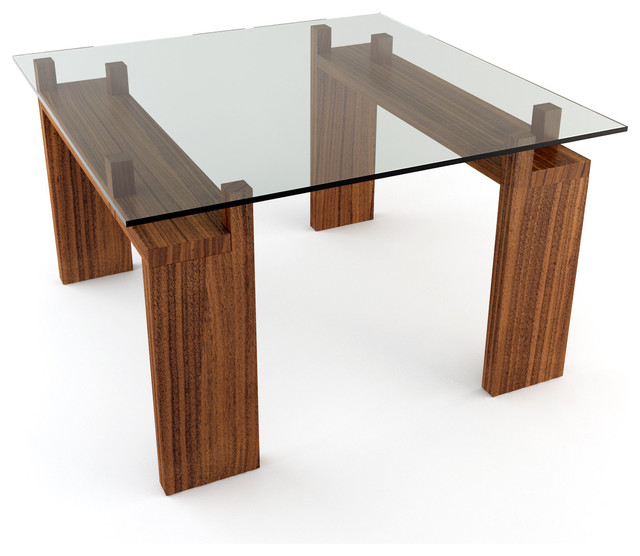 Viesso Knar 48 X 48 Square Dining Table Modern Dining Tables