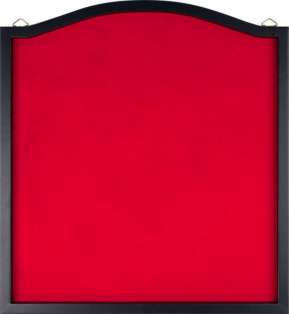 Dart Backboard with Solid Wood Frame and Red Felt by ...