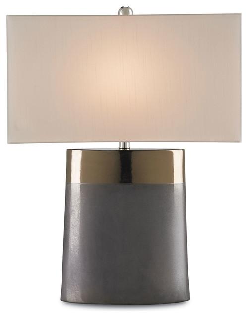 Two toned bronze ceramic large modern table lamp for 100 watt table lamps uk
